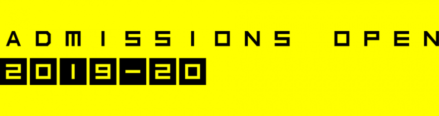 Admissions – 2019